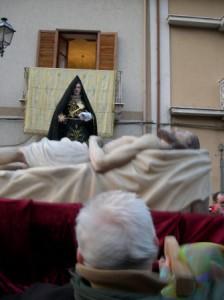 Incontro Gesù e Madonna