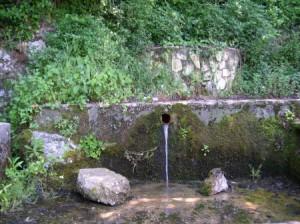 fontana sotto il Castello