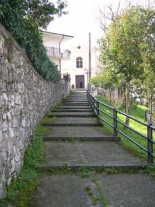 Scale chiesa di Valle